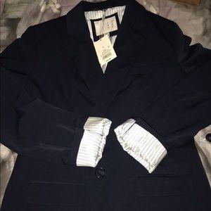navy women's blazer size 8